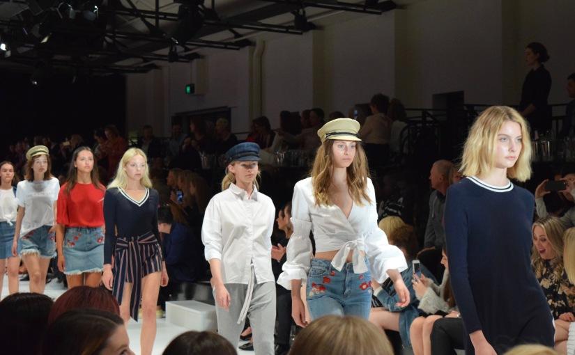 Adelaide Fashion Festival 2017 Runway 3:BNKR